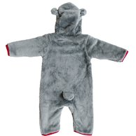 Teddy Jumpsuit SCB Grey 62/68